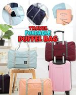 Travel Foldable Duffel Bag - LimeTrifle
