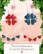 Transformable Clover Necklace - LimeTrifle