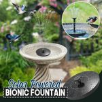 Solar Powered Bionic Fountain