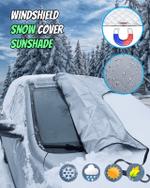 Windshield Snow Cover Sunshade - LimeTrifle