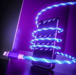 Magnetic LED Phone Charging Cable