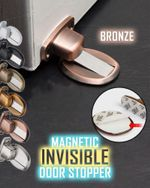 Magnetic Invisible Door Stopper - LimeTrifle