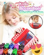 Kids Accordion Musical Toy - LimeTrifle