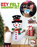 DIY Felt Snowman Set - LimeTrifle