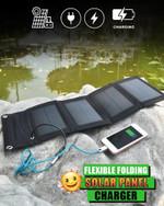 Flexible Folding Solar Panel Charger