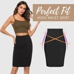 Perfect Fit High Waist Skirt - LimeTrifle