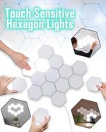 Touch Sensitive Hexagon Lights