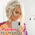 Braided Hair Headband - LimeTrifle