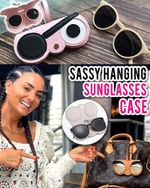 Sassy Hanging Sunglasses Case - LimeTrifle