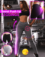 Boost Push Up Leggings - LimeTrifle