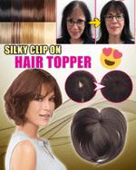 Silky Clip-On Hair Topper - LimeTrifle