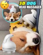 3D Dog Head Massager - LimeTrifle