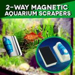 2-Way Magnetic Aquarium Scrapers