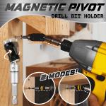 Magnetic Pivot Drill Bit Holder