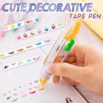 Cute Decorative Tape Pen