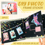 DIY Photo Frame Sticker (20PCS)