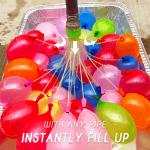 Self-Tie Water Balloon Instant Filler