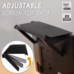 Adjustable Screen-Top Storage Rack