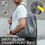 Anti-Slash Drawstring Bag