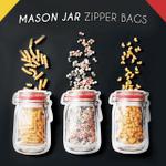 Mason Jar Zipper Bags