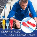 Clamp & Plug T-Tap Wires Conntectors (120 PCS)