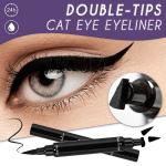 Double-Tips Cat Eye Eyeliner