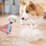 Double-sided Pets Hair Detangler