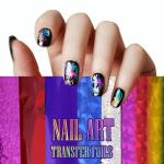 Nail Art Transfer Foils (Set of 12)