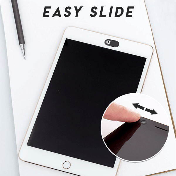 Easy-Slide Webcam Cover