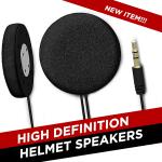 High Definition Helmet Speakers