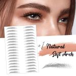 4D Hair-like Eyebrows