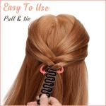 Quick-Tie Fishtail Braid Stick (3 PCS)