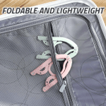 Foldable Travel Hanger (Set of 4)