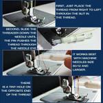 Efficient Sewing Machine Threader