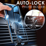 Universal Auto-lock Phone Holder