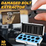Universal Damaged Bolt Extractors (Set of 10)