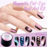 Magnetic Cat Eye Nail Art Kit