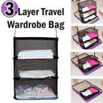 3-Layer Travel Wardrobe Bag - esfranki