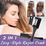 2 In 1 Easy-Style Razor Comb