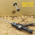 Countersink Drill Bits (Set of 5)