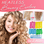 Heatless Bouncy Curlers