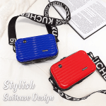 Stylish Mini Suitcase Crossbody Clutch