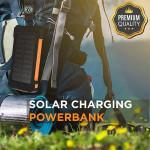 30,000mAh Solar Charging Power Bank