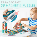 TranzForm 3D Magnetic Puzzles