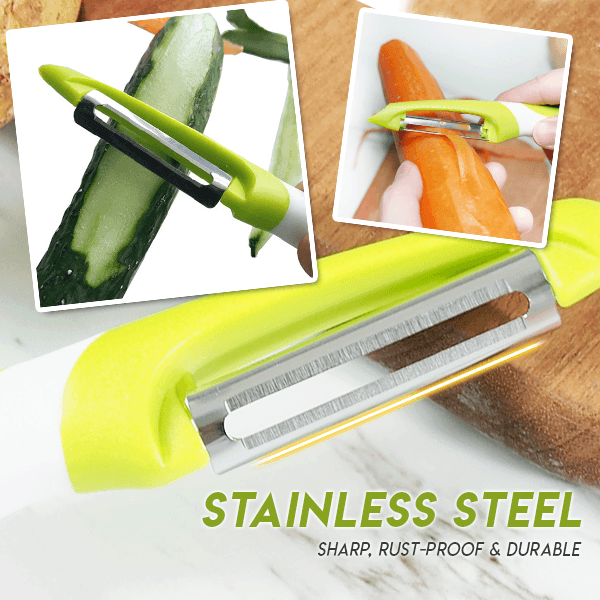 Stainless Steel Quick Peeler