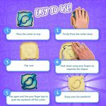 DIY Sandwiches Cutter Set
