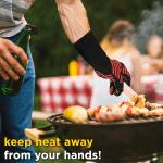 Premium Heat Resistant BBQ & Grill Gloves