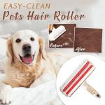 Easy-Clean Pets Hair Roller