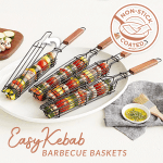 EasyKebab Barbecue Baskets