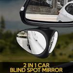 2 In 1 Car Blind Spot Mirror